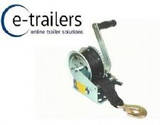 MAYPOLE QUALITY BOAT TRAILER HANDWINCH 320KG / 1200LB - MP7973